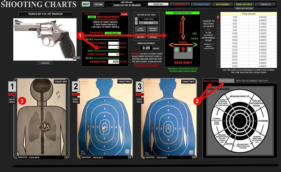 Shooting Charts