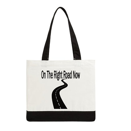 TOTE BAG (ON THE RIGHT ROAD NOW)