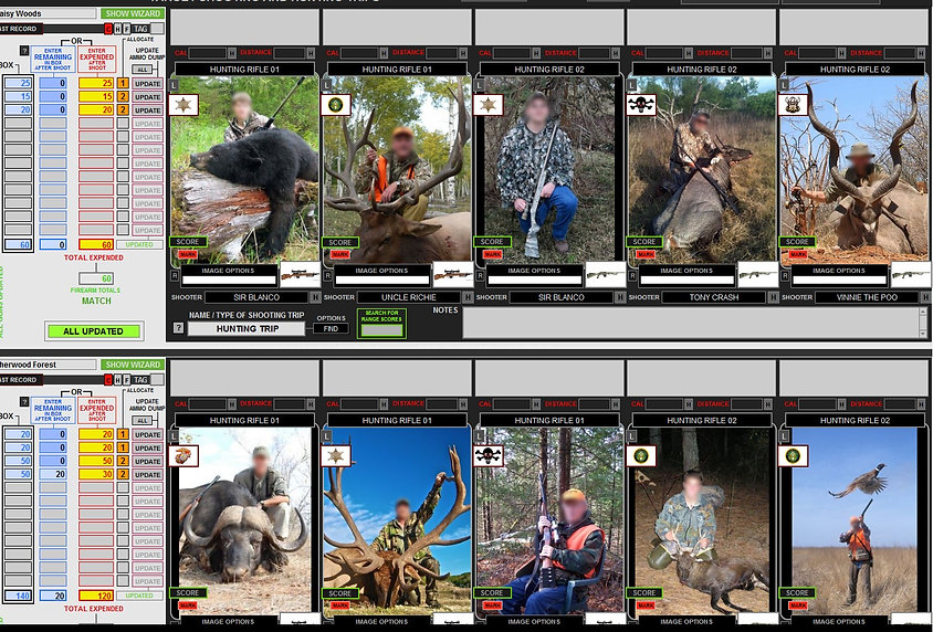 Range Records Hunters