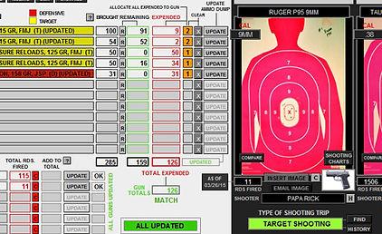 SCREEN SHOT RANGE RECORDS