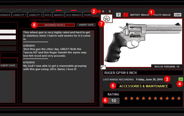 Firearms Right Side