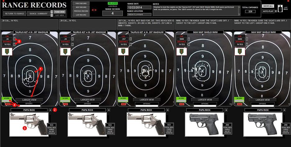 Full Range Image Set