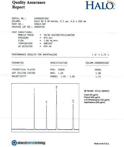 колонка ВЭЖХ Halo Kinetex C18 ODS BDS AQ NH2 Luna Hypersil Symmetry PLRP-S Kromasil Zorbax жидкостной хроматограф для определения