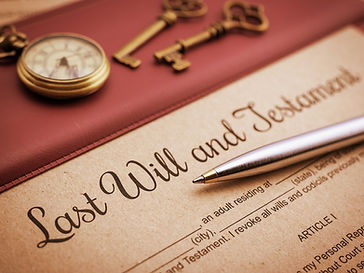 Planning a Will with an attorney