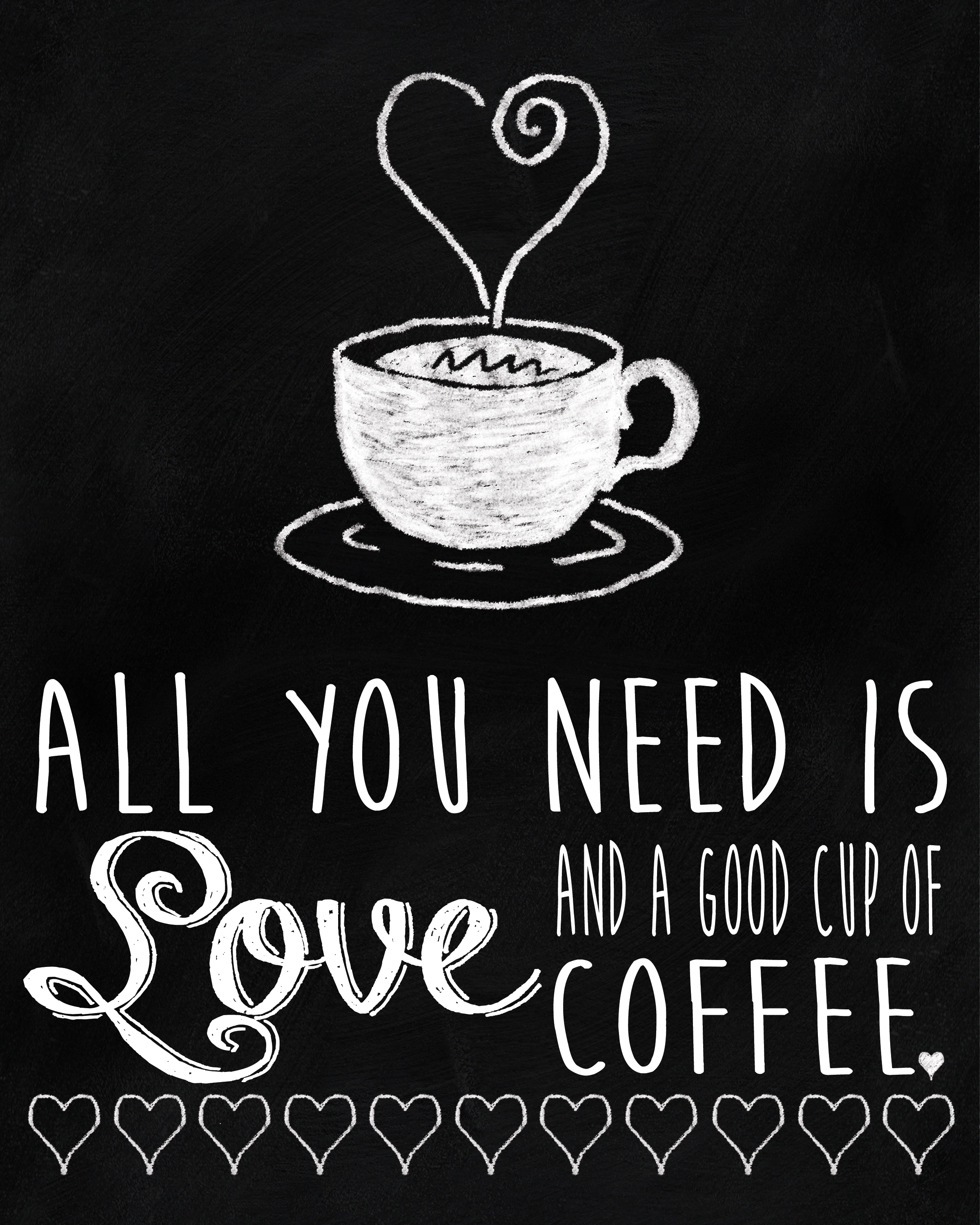 Coffee Sign Quote