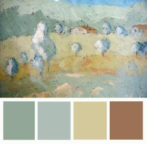 Studio palette colori