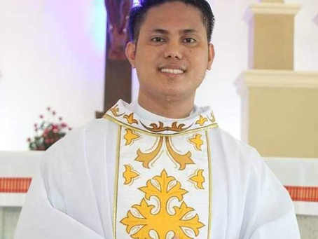 Newly Ordained Fr.Kenneth Lapitag Laorden,CS