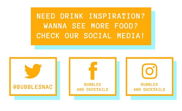 bubbles social media poster (april 19 20
