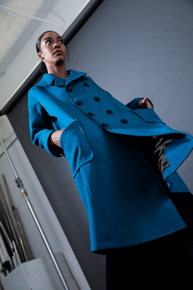 double - breasted coat  MG CO-1883-A 49,000 yen