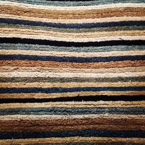"""縞 / """"Stripe"""" (with remaining threads)"""
