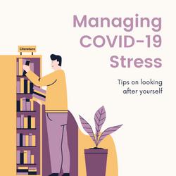 Purple and Yellow Illustrative Managing