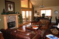 Living Room Rocky Mountain Views