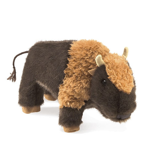 Small Bison Hand Puppet