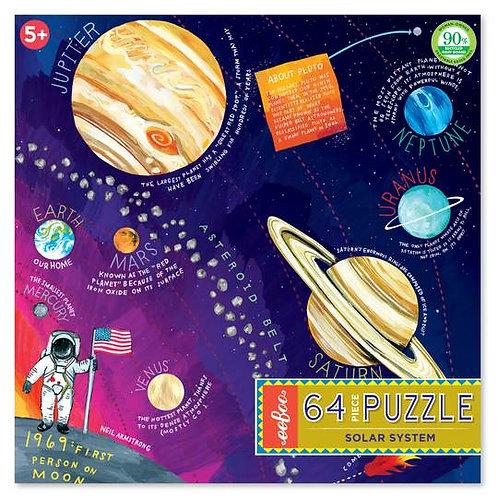 Solar System 64 Piece Puzzle