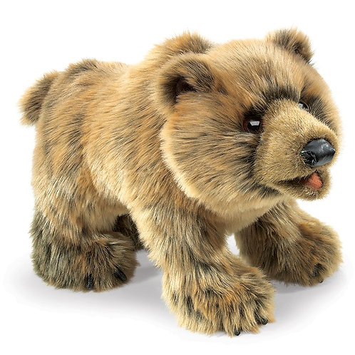 Grizzly Bear Hand Puppet
