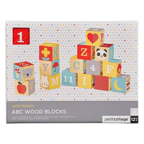 Petit Friends ABC Wood Blocks