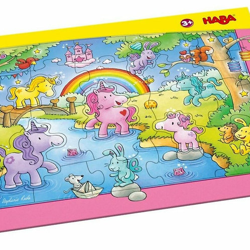 Frame Puzzle Unicorn Glitterluck