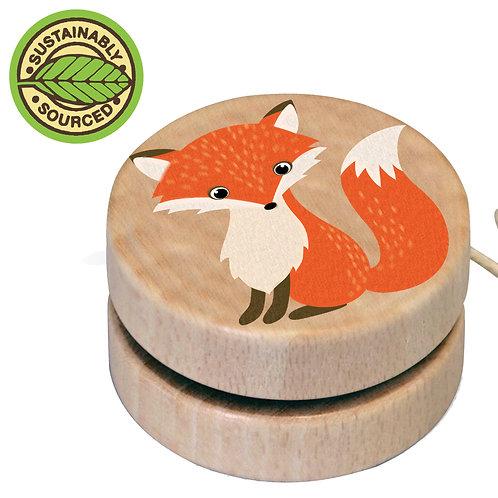 Wooden Wildlife Yo-yos