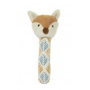 Phil the Fox Stick Rattle