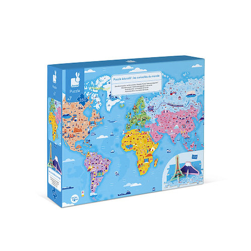World Curiosities 350 Piece Puzzle