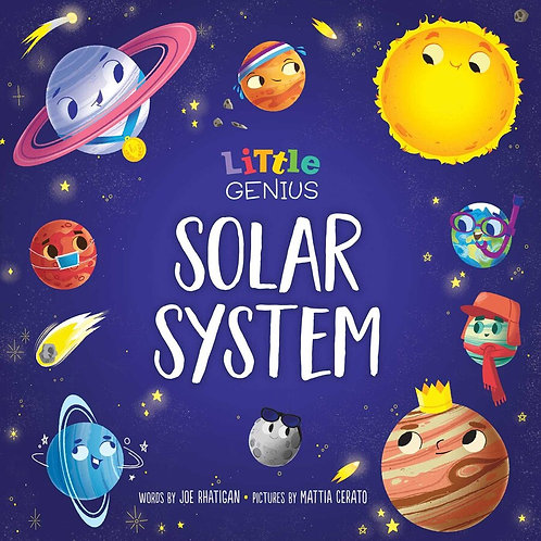 Little Genius Solar System Book