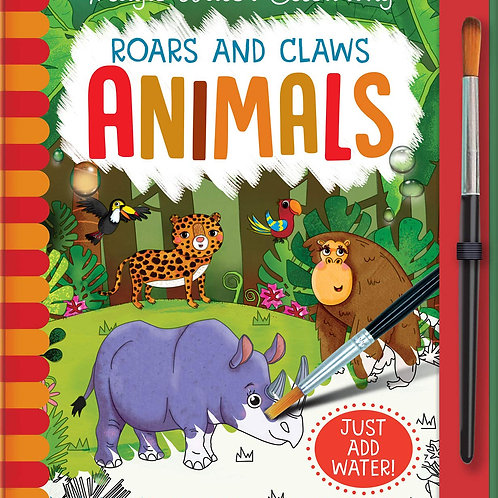 Roars & Claws Animals Paint with Water
