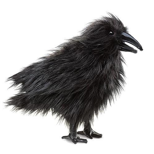 Raven Hand Puppet