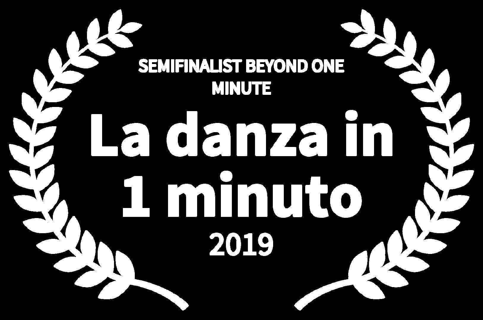 SEMIFINALIST BEYOND ONE MINUTE - La danz