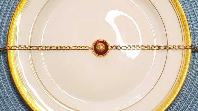 Choker London - Chaine Maille ronde/ovale