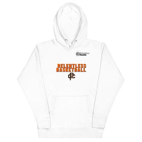 Relentless Basketball Hoodie White