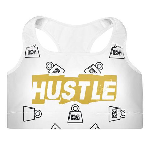 Gold Hustle Sports Bra