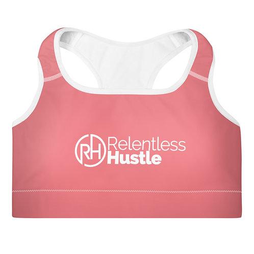 Pink Hustle Sports Bra