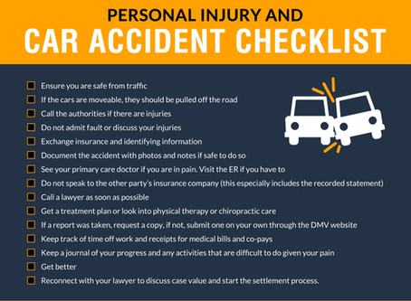 The Complete Guide for Accidents and Injuries: Checklists, Questionnaire and How to Hire a Lawyer
