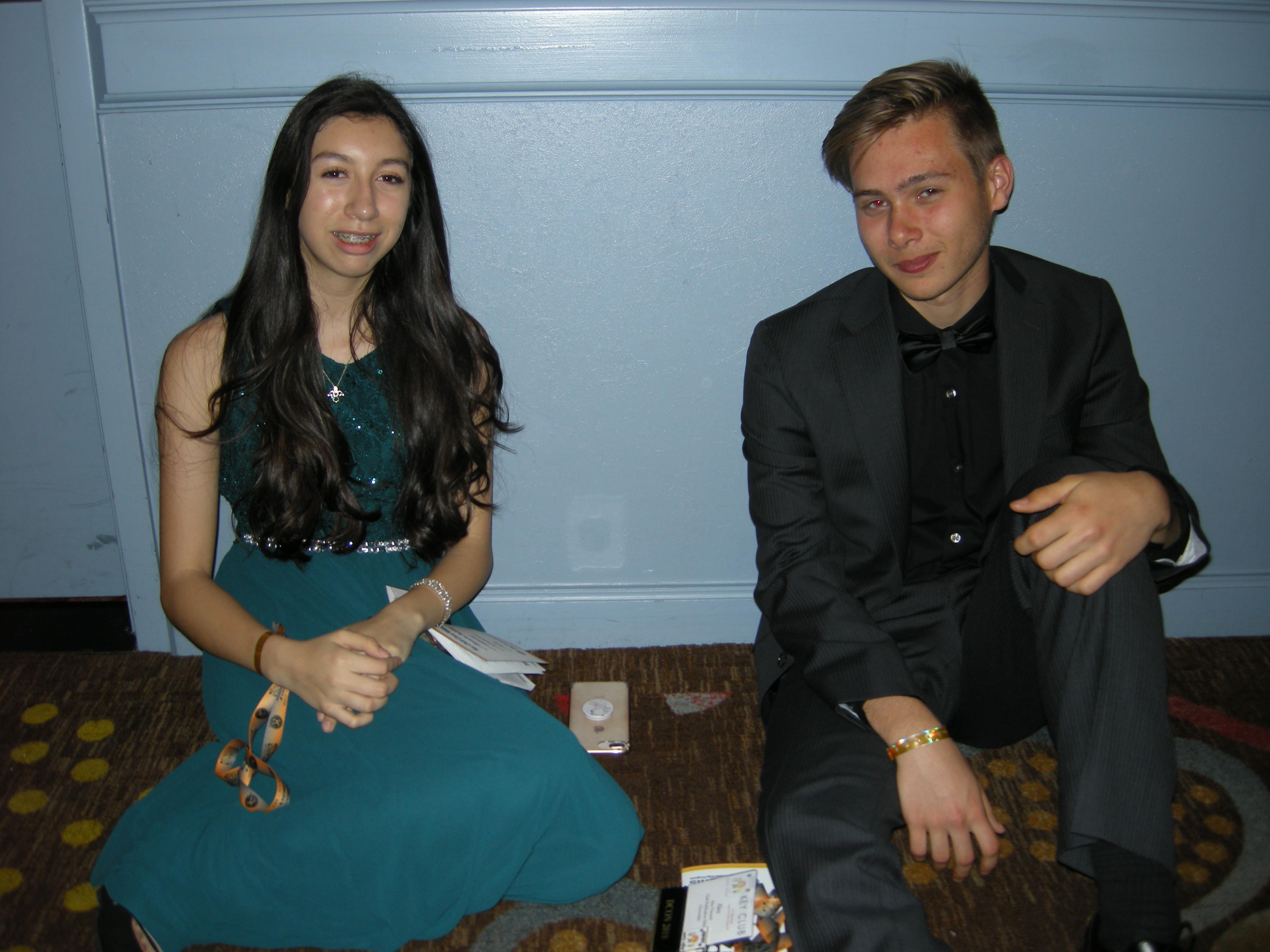 Anahi and Alex