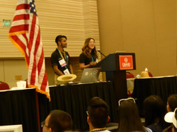 LTGs leading a workshop