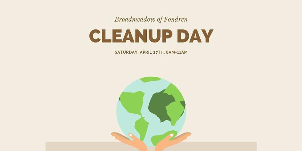 Broadmeadow's Spring Cleanup