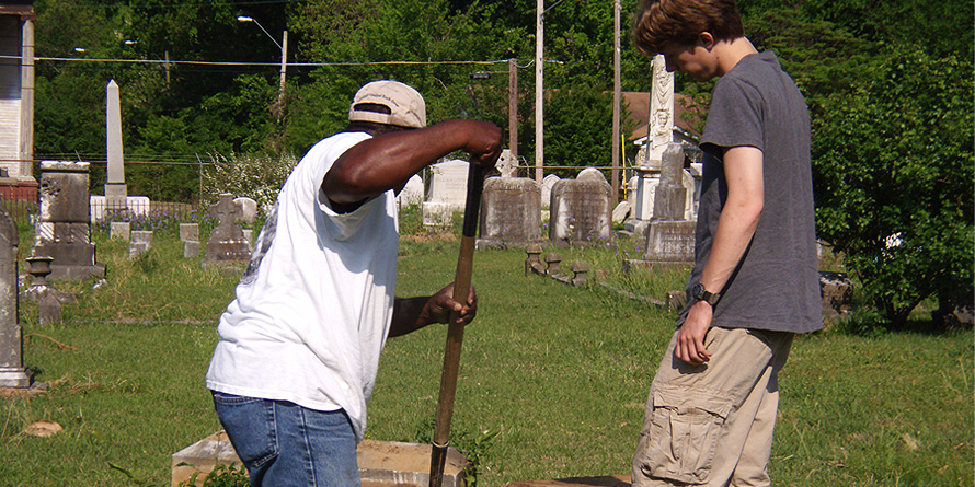 Millsaps_Volunteers_Greenwood_Cemetery