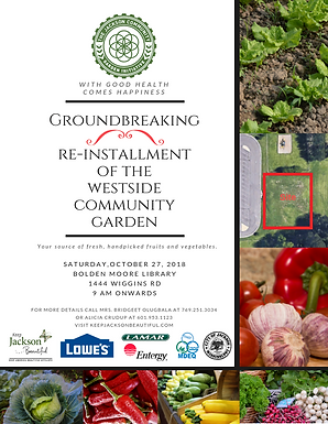 Westside Community Garden Groundbreaking
