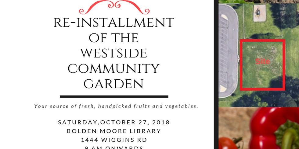 Westside Community Garden Groundbreaking