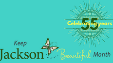 Keep Jackson Beautiful Celebrates 55 Years with the 2nd Annual Kickoff of Keep Jackson Beautiful Mon