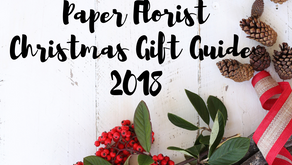 Paper Florist Christmas Gift Guide 2018