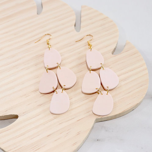 Beige Collection   Polymer Clay Earrings