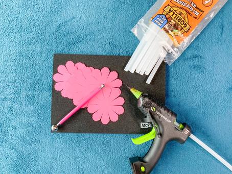 DIY Cricut Peony