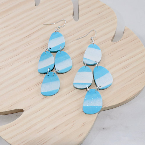 Blue Sky Collection | Polymer Clay Earrings