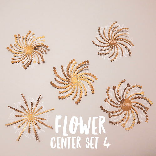Flower Center Set 4
