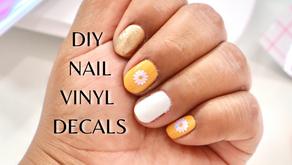 DIY NAIL VINYL DECALS
