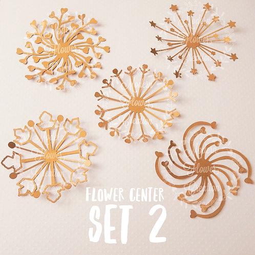 Flower Center Set 2