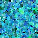 Blue Spots Transparent