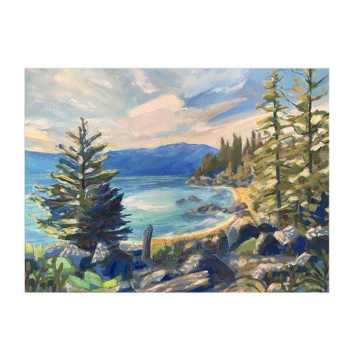 Tahoe East Shore Archival Print
