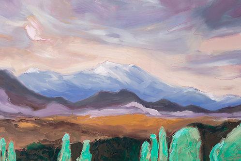 Wahoe Valley Original Oil Painting